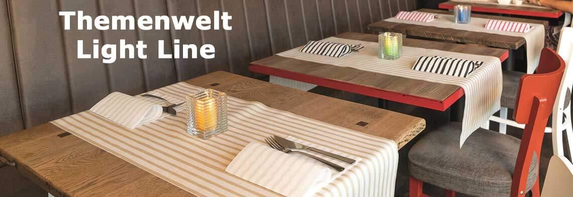 Servietten-themenwelt/light-line