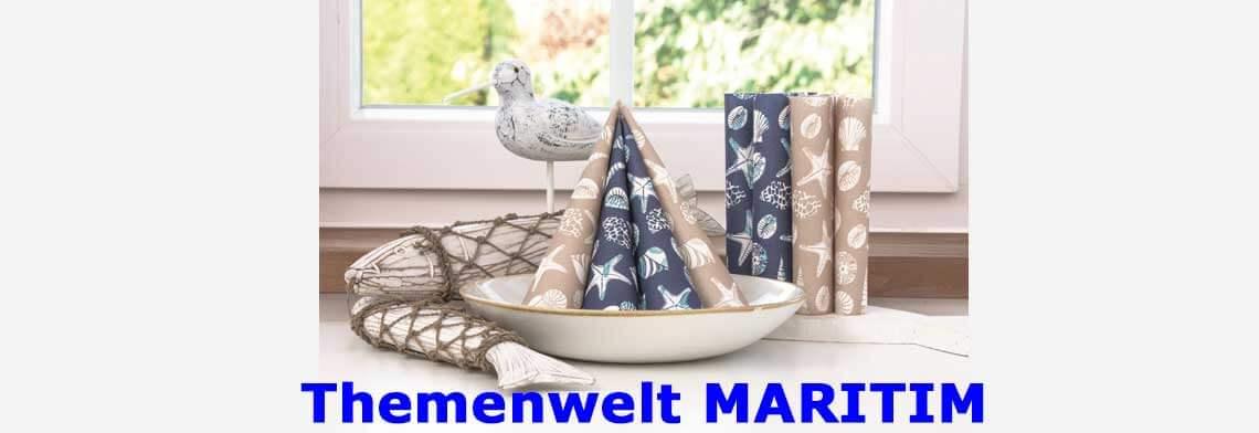 Servietten-themenwelt/maritim
