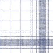 Serviette aus Linclass NADEEM BLAU 40 x 40 cm