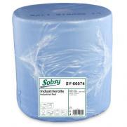Industriepapierrolle blau 3-lagig, recycling, Ø 30 cm
