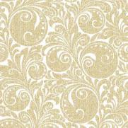 Linclass-Serviette JORDAN gold 40 x 40 cm; 600 Stück im Karton
