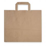 Papiertragetasche mit Henkel, ca. 15 Liter Volumen