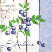 Tissue Serviette 33 x 33 cm BLUEBERRY