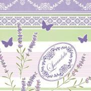 100 Stück 40x40 cm Schmetterlinge Tissue Serviette Charlotte in Intensiv