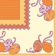 Tissue-Serviette ANDY GELB 40 x 40 cm
