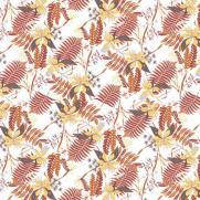 Tischdecke aus Linclass HENNES WEISS 80 x 80 cm