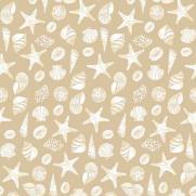 Tischdecken aus Linclass BEACH SAND 80 x 80 cm