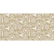 Linclass-Tischläufer BOB GOLDBRAUN 40 cm breit