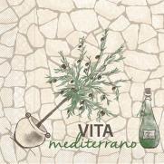 Tissue Serviette VITA MEDITERRANO 40 x 40 cm