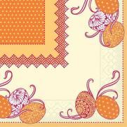 Tissue-Serviette ANDY GELB 33 x 33 cm