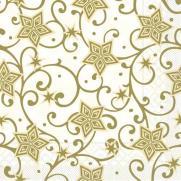 Tissue-Serviette JOSH champagner-gold; 40x40 cm; 1200 Stück im Karton