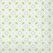 Tissue-Serviette MIA GRÜN 33 x 33 cm