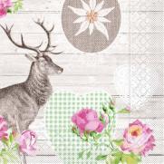Tissue-Serviette WALDEMAR 33 x 33 cm