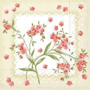 Tissue Serviette 33 x 33 cm; Typ: EVELYN grün; 800 Stück im Karton