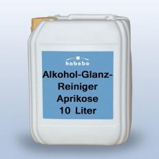 Alkohol-Glanzreiniger, Duft Aprikose, 10 Liter