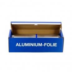Alufolie 44 cm, 115 m in praktischer Cutterbox, 6 Rollen im Karton
