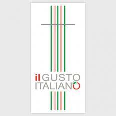 Bestecktaschen IL GUSTO ITALIANO aus Airlaid; 600 Stück im Karton