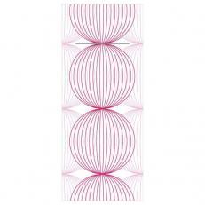 Besteckserviette aus Linclass-Light LUDO ALTROSA-BORDEAUX  40 x 33 cm