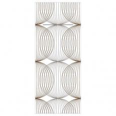 Besteckserviette aus Linclass-Light LUDO BEIGE-GREY-BRAUN  40 x 33 cm