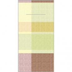 Bestecktaschen MARC ORANGE-ROT 40 x 40 cm