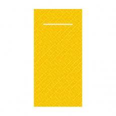 Pocket-Napkin;Tissue-Deluxe 40 x 40 cm; 600 Stück im Karton; Farbe: gelb