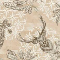 Duni-Klassik-Serviette WILD DEER 40 x 40 cm