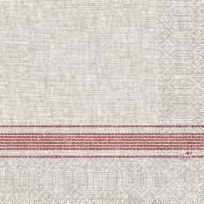 Duni-Zelltuch-Serviette COCINA BORDEAUX 33 x 33 cm