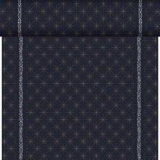 Dunicel-Tischläufer GLITTER BLACK 40 cm breit