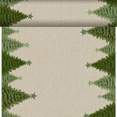 Dunicel-Tischläufer FIR FOREST 40 cm breit