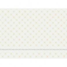 Dunicel-Tischset GLITTER WHITE 30 x 40 cm
