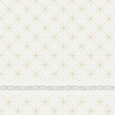 Dunisoft-Serviette GLITTER WHITE 40 x 40 cm