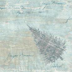 Dunisoft-Serviette BLUE WINTER 40 x 40 cm