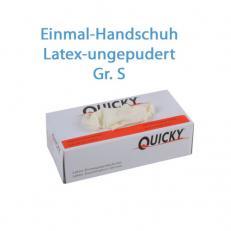 Latex Schutzhandschuhe puderfrei; Größe S; 100 Stk. im Pack