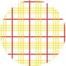 Paper-Caps 67 mm; Typ: GREGOR rot gelb