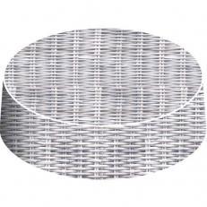Glasabdecker RATTAN 105 mm