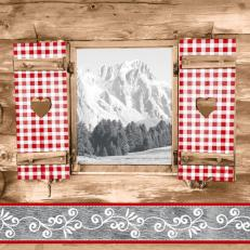 Linclass-Serviette ALMBLICK 40 x 40 cm