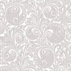 Linclass-Serviette JORDAN silber 40 x 40 cm; 600 Stück im Karton
