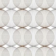 Linclass-Serviette LUDO BEIGE-GREY-BRAUN 40 x 40 cm