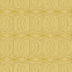 Linclass-Serviette LUDO GOLD 40 x 40 cm, Prägedesign