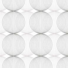 Linclass-Serviette LUDO GRAU 40 x 40 cm