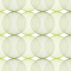 Linclass-Serviette LUDO LIME-OLIV 40 x 40 cm