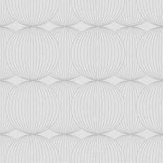 Linclass-Serviette LUDO PERLGRAU 40 x 40 cm, Prägedesign