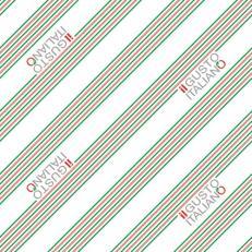 Papier-Tischdecken IL GUSTO ITALIANO 80 x 80 cm; 100 Stück im Karton