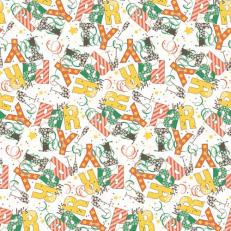 Papier-Tischdecken LET´S PARTY GRÜN-BRAUN 80 x 80 cm; 100 Stück im Karton