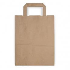 Papiertragetasche mit Henkel, ca. 6 Liter Volumen