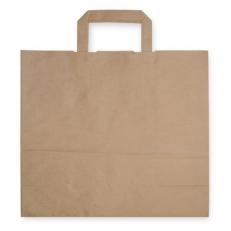 Papiertragetasche mit Henkel, ca. 18 Liter Volumen