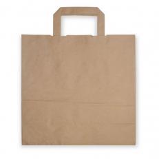 Papiertragetasche mit Henkel, ca. 13 Liter Volumen