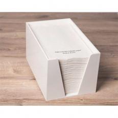Premium-Handtuch-Spender-Box weiss