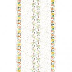 Tischdecken LET´S PARTY GRÜN-BRAUN aus Airlaid 120 x 220 cm; 20 Stück im Karton