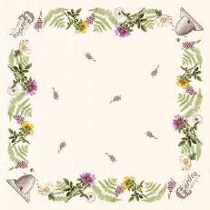 Tischdecke aus Linclass BEE KEEPING 80 x 80 cm